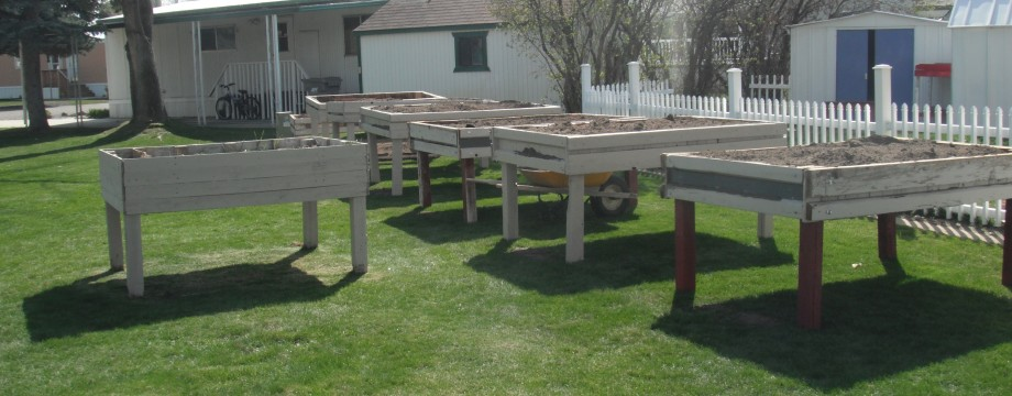 Growing Change Inc Garden Boxes Complete